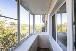 балкон под ключ, остекление балконов