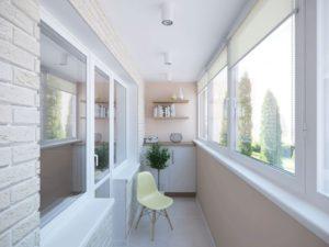 отделка балкона и остекление балконов